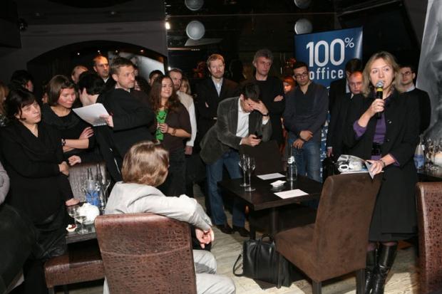 Круглый стол журнала «100% Офис» в Чапурин баре. «Заказ и заказчики»