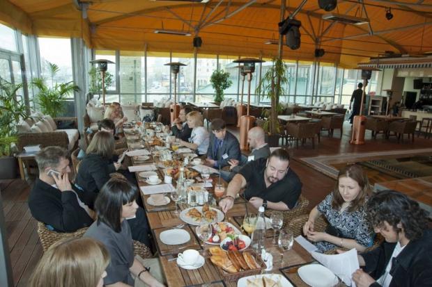 Круглый стол журнала «100% Офис» в ресторане SohoRooms