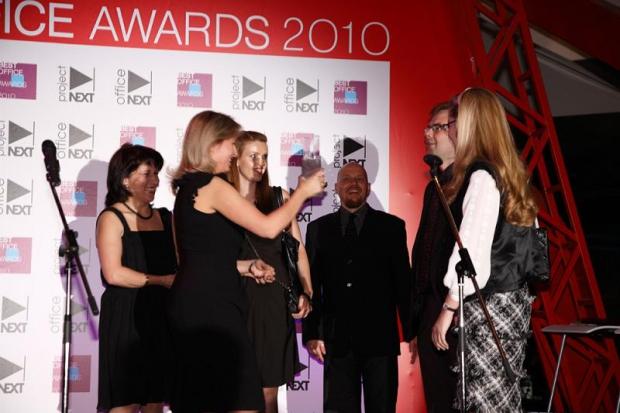 """Национальная премия за лучший офисный интерьер – """"Best Office Awards – 2010"""""""